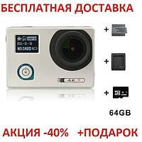 Action Camera F88 WiFi 4K 20 Экшн камера Ф88 Вай Фай 4К 20 Оriginal size Видеокамера Go pro Камера
