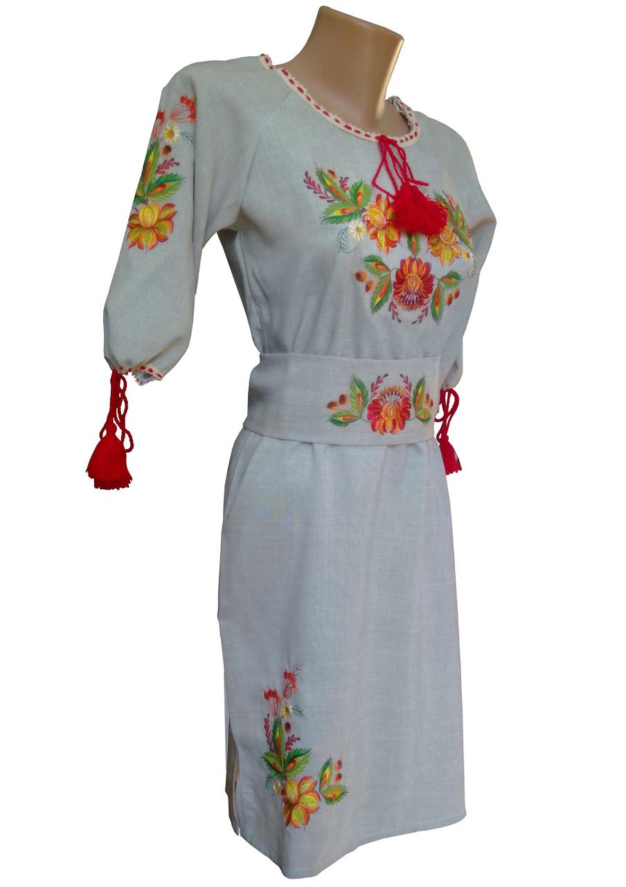 ... Вишите жіноче плаття в українському стилі