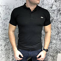 Футболка поло Lacoste Polo In Petit Pique Black