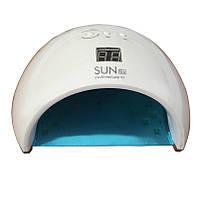 Лампа UV + LED Sun 6s на 48W — гибридная для маникюра и педикюра со сменным дном — Оригинал Гарантия Белая