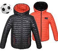 Весенние двухсторонние курточки для мальчиков новинка