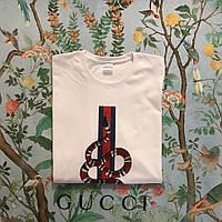 Футболка Gucci, змея, фото 1