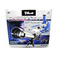 Дитячий набір 2в1 телескоп і мікроскоп C2111