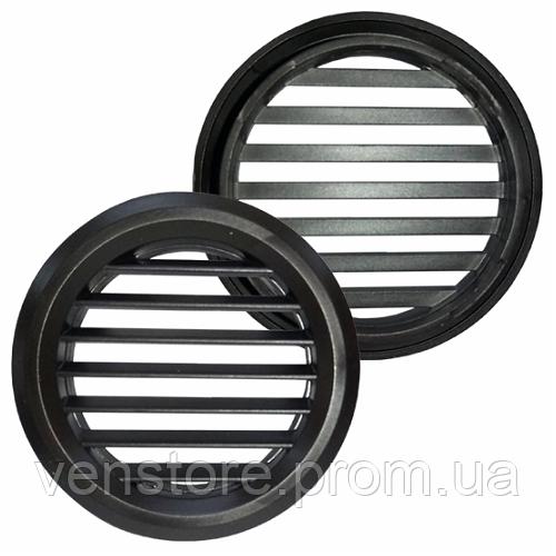 Решетка пластиковая Вентс МВ 50/2 бв коричневая