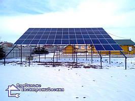 Мережева сонячна електростанція 20 кВт с. Сухостав