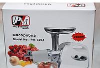 Электрическая Мясорубка с Насадкой для Томатов + Соковыжималка Pro Motec PM-1054