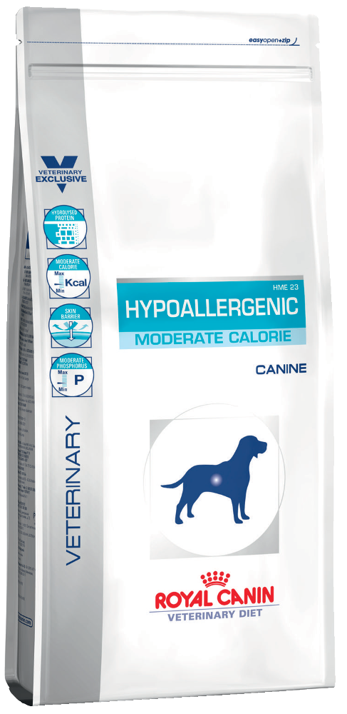 Royal Canin HYPOALLERGENIC MODERATE CALORIE Canine