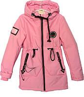 """Куртка подростковая демисезонная """"TAILANG"""" #HL-0865 для девочек. 9-10-11-12-13 лет. Розовая. Оптом., фото 1"""