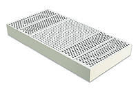 Латекс для матраса натуральный блок высота 20 см размер 120х200 (5 зон жесткости)