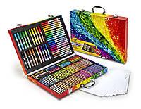 Crayola набор для творчества в чемодане, 140 предметов. Оригинал