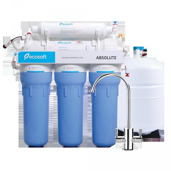 Фильтр для воды обратный осмос с минерализатором Ecosoft Absolute 6-50M