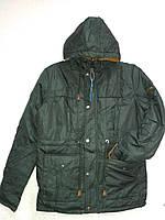 Мужскеюая куртка деми черная