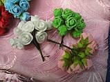 Роза латексная в букетике 12 грн, фото 2