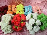 Роза латексная в букетике 12 грн, фото 3