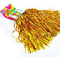 Помпоны болельщика Золотые для черлидинга, махалки для группы поддержки, черлидерши