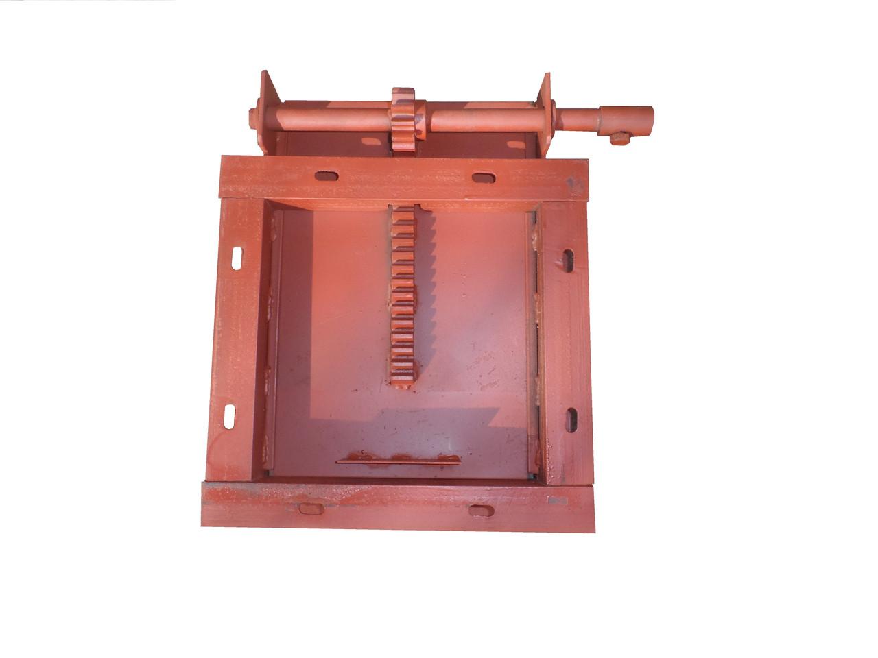 Шиберна заслінка 250х250 ручна (засувка) ..