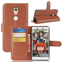 Чехол Nokia 7 книжка PU-Кожа коричневый