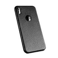 "TPU чехол с имитацией кожи для Apple iPhone X (5.8"")"