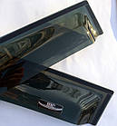 Дефлекторы окон ветровики на CITROEN Ситроен C4 2010-> HB , фото 4