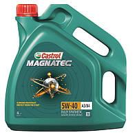 """Масло моторное синтетическое """"CASTRO Magnatec 5W40 A3/B4 4L"""""""