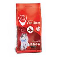 Наполнитель для кошачьего туалета Van cat (Ван кэт) бентонитовый комкующийся натуральный 20 кг