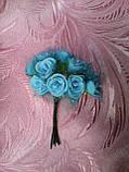 Роза маленькая латексная в букетике  12 грн., фото 4