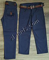 Яркие штаны,джинсы для мальчика 8-12 лет(ромбик темно синие) розн пр.Турция, фото 1