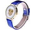Стильные женские часы сова с синим ремешком, фото 3