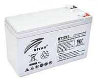 Аккумуляторная батарея AGM RITAR RT1270, Gray Case, 12V 7.0Ah  (151х65х93 (98) мм) Q10