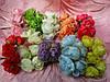 Роза тканевая для скрапбукинга (15/12) (цена за 1 шт. + 3 грн.)