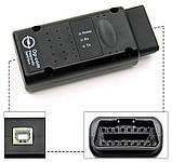 Диагностический сканер OPCOM v1.7, диагностика авто Opel/SAAB чип PIC18F458, фото 2