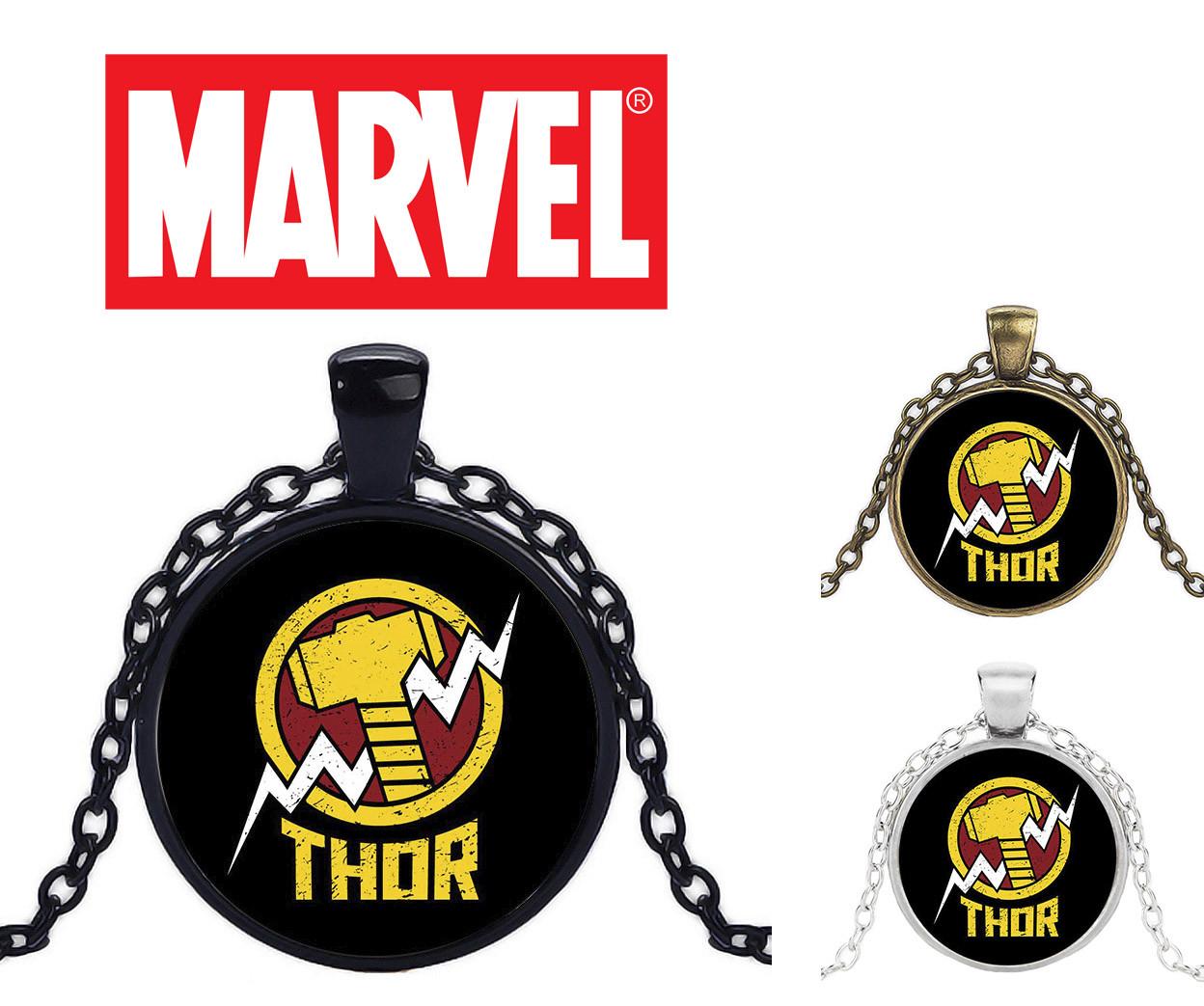 Кулон с изображением логотипа Тора Avengers Мстители
