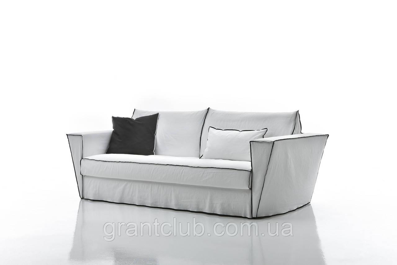 Итальянский раскладной диван с шириной спального места 160 см и контрастным кантом MAISON фабрика ALBERTA