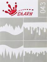 Трафареты для аэрографии Sharn №043