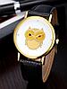 Стильные женские часы сова с черным ремешком, фото 2