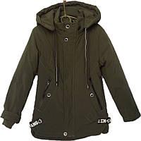 """Куртка детская демисезонная """"is YIQIDA"""" #7816 для мальчиков. 6-10 лет. Зеленая. Оптом., фото 1"""