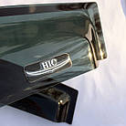Дефлекторы окон ветровики на MITSUBISHI Митсубиси Lancer 9 2003-2007 Sedan, фото 4