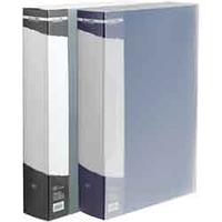 Папка пластикова з100 файлами А4 (в чохлі)