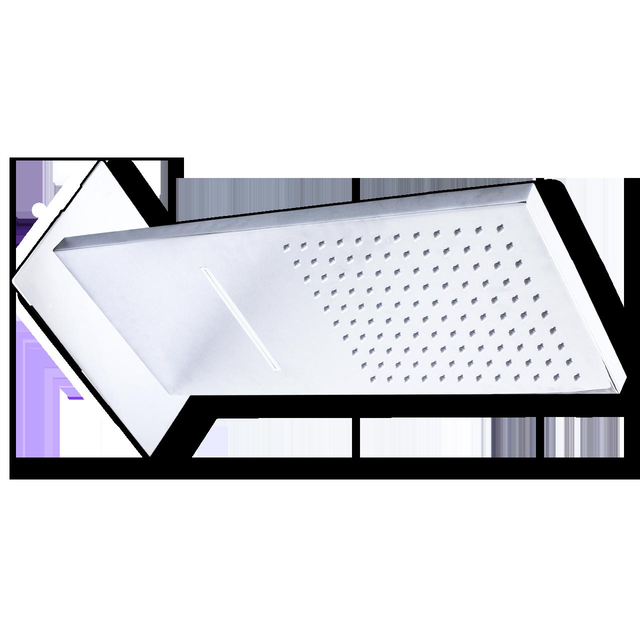 Душ настенный двух режимный, для встройки в стену ( инсталляция ) душ+водопад