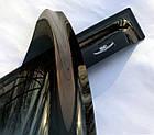 Дефлектори вікон вітровики на MITSUBISHI Мітсубіші Pajero Sport 1996-2009, фото 6