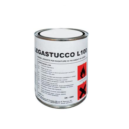 LEGASTUCCO L100 універсальна шпаклівка під лаки і масло ADESIV ( 10/1 кг. )