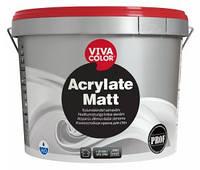 Износостойкая краска Vivacolor Acrylate Matt Виваколор Акрилат Мат, 9 л