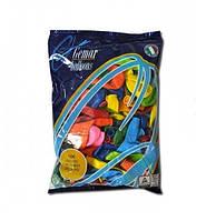 """Надувные шары """"Пастель Ассорти"""" Gemar Balloons G90/80 (26 см/10"""", арт. 09801, упаковка 100 шт)"""