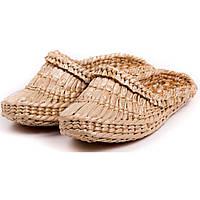 Лапти плетеные для сауны  камыш Удобно использовать в сухой парилке Смотреть в онлайн магазине Код: КГ4069