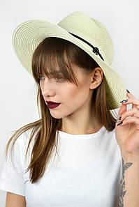 Шляпа федора Боракай кремовая