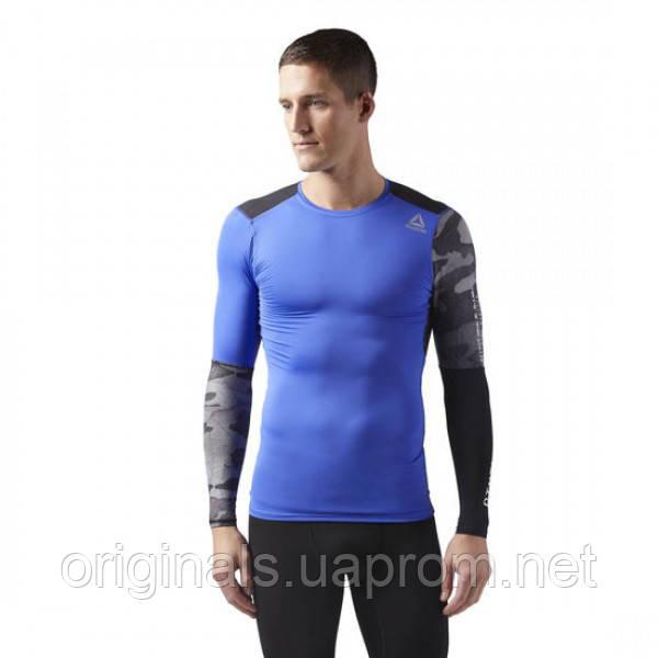 Компрессионная футболка с длинным рукавом Reebok Activchill Graphic CF3715  - 2018 - интернет-магазин Originals 5246956870883