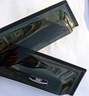Дефлектори вікон вітровики на RENAULT Рено Clio III 2005-2012 HB, фото 4
