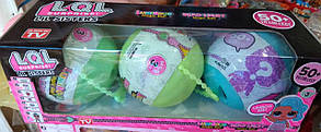 Игровой Набор кукол ЛОЛ - LIL Sisters маленькие сестрички 3серия(3шт), фото 3