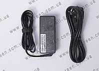Блок питания Lenovo 20V, 3.25A, 65W, USB+pin (Square 5 Pin DC Plug), black + сетевой кабель питания, фото 1