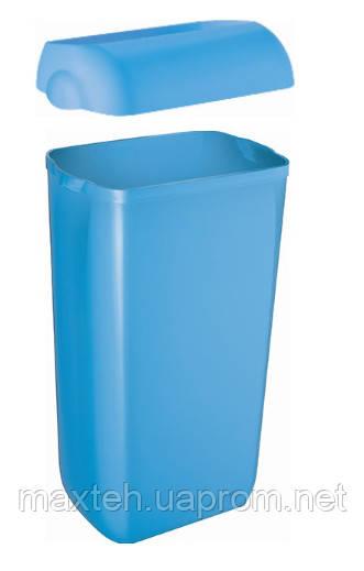 Престо Урна 23 литра с крышкой-ободом голубая